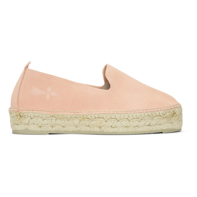 Image of Manebí Pink Hamptons Double Slip-On Espadrilles