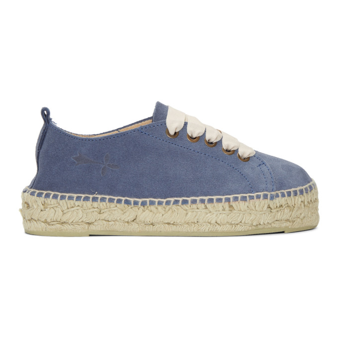 Image of Manebí Blue Hamptons Double Sneaker Espadrilles