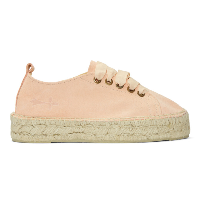 Image of Manebí Pink Hamptons Double Sneaker Espadrilles