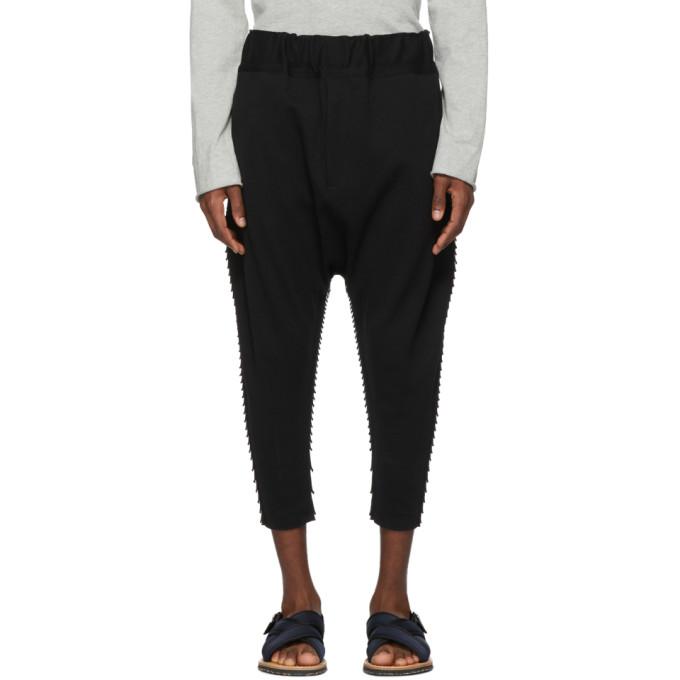 Image of Issey Miyake Men Black APOC Lounge Pants