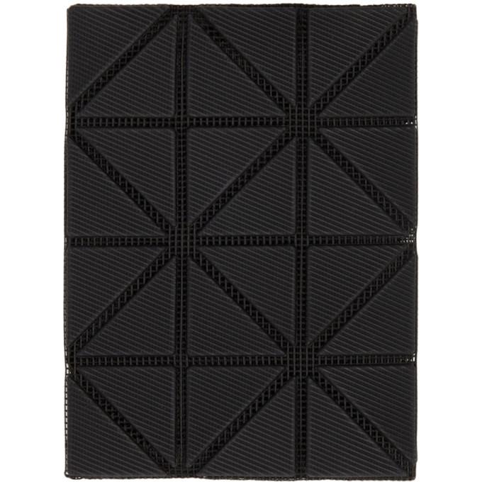 Image of Bao Bao Issey Miyake Black Bifold Card Holder