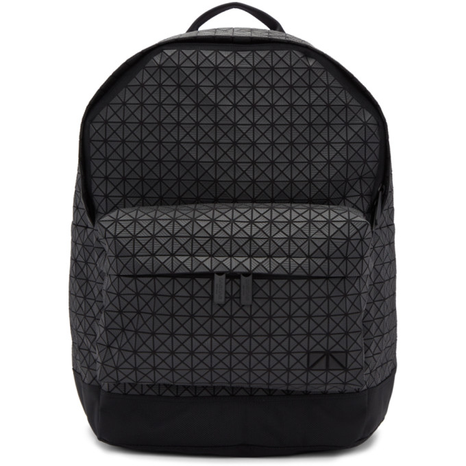 Image of Bao Bao Issey Miyake Black Daypack Backpack