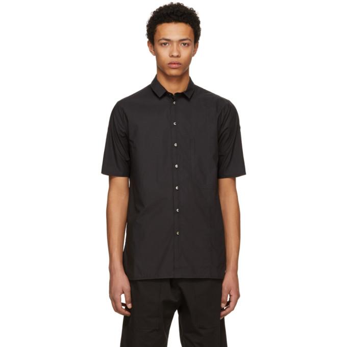 Image of Isabel Benenato Black Club Collar Shirt