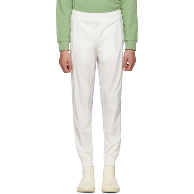 Image of Cottweiler Ivory Contrast Mesh Panel Signature 2.0 Track Pants