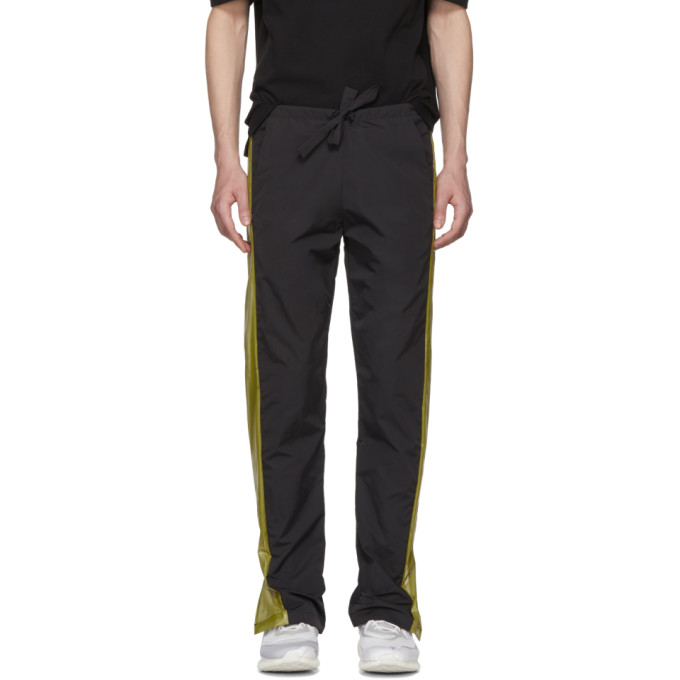 Image of Cottweiler Black Contrast Panel Lounge Pants