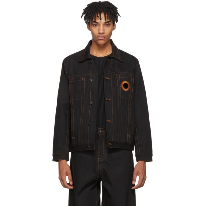 Image of Craig Green Black Denim Jacket