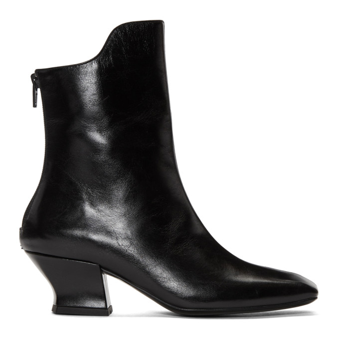 Image of Dorateymur Black Han Mid-Calf Boots
