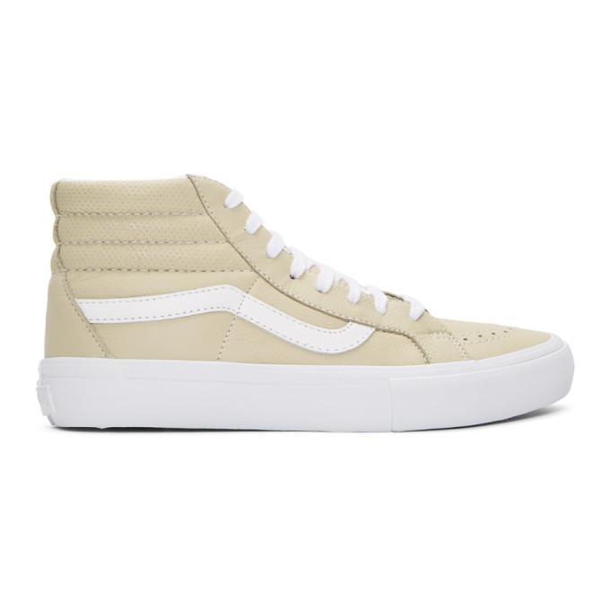 16d48637e5 Vans Beige SK8 Hi Reissue VLT LX Sneakers