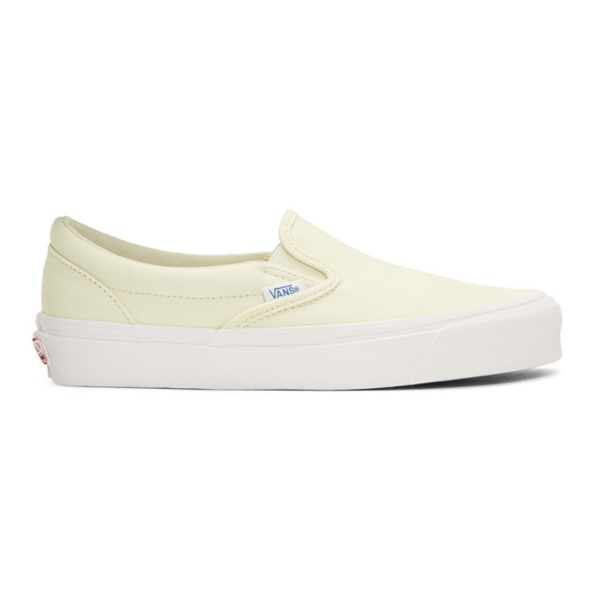 Vans Off-White OG Classic LX Slip-On Sneakers