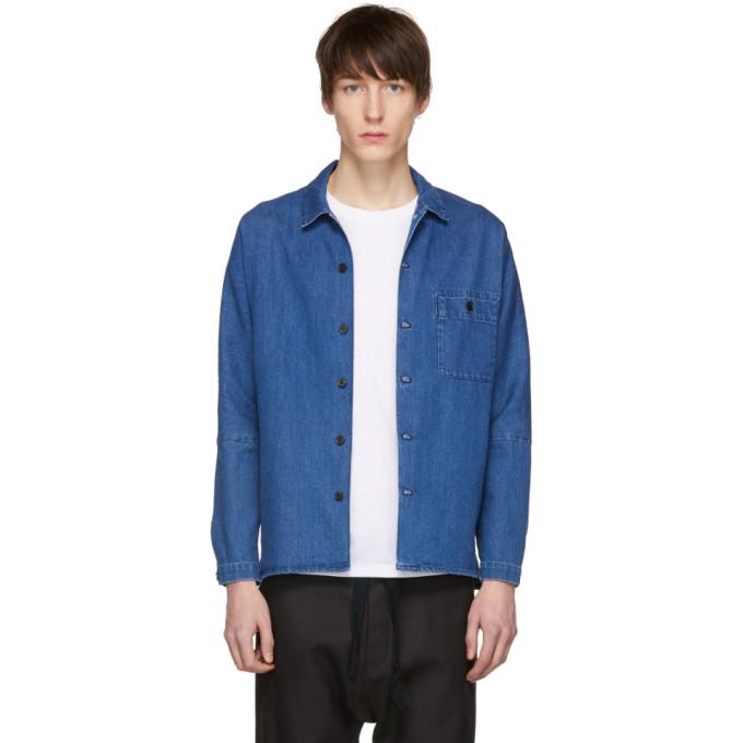 Image of Stephan Schneider Blue Denim Soft Shirt