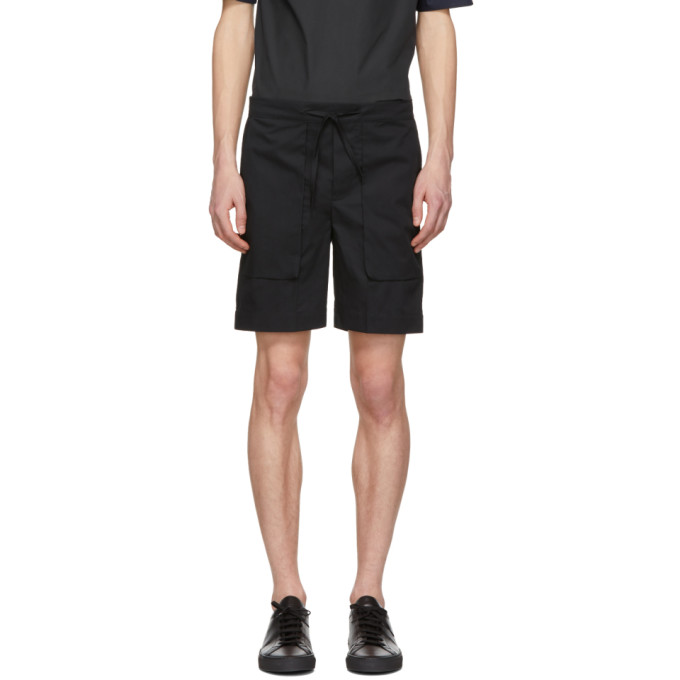 Image of Stephan Schneider Black Corner Shorts