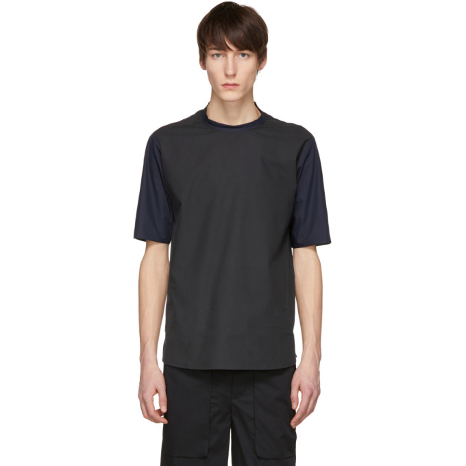 Image of Stephan Schneider Black & Navy Mix Bubbly T-Shirt