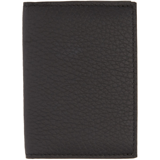 Image of Éditions M.R Black Leather Card Holder