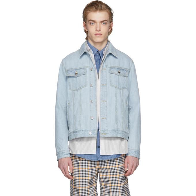 Image of Éditions M.R Blue Light Denim Jacket