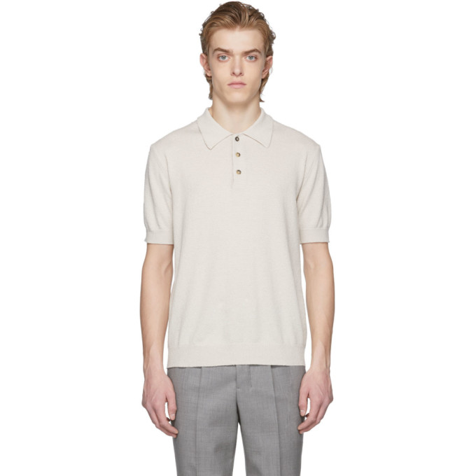 Image of Éditions M.R Beige Positano Polo