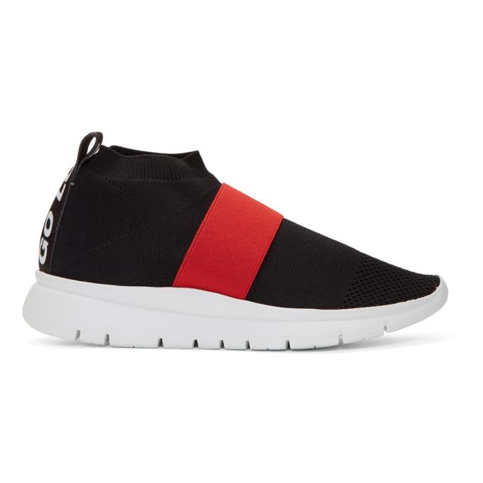 Image of Joshua Sanders Black Go High Sneakers