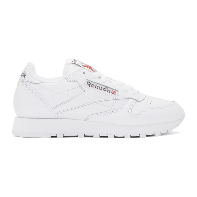 Reebok Classics White Club Archive Sneakers
