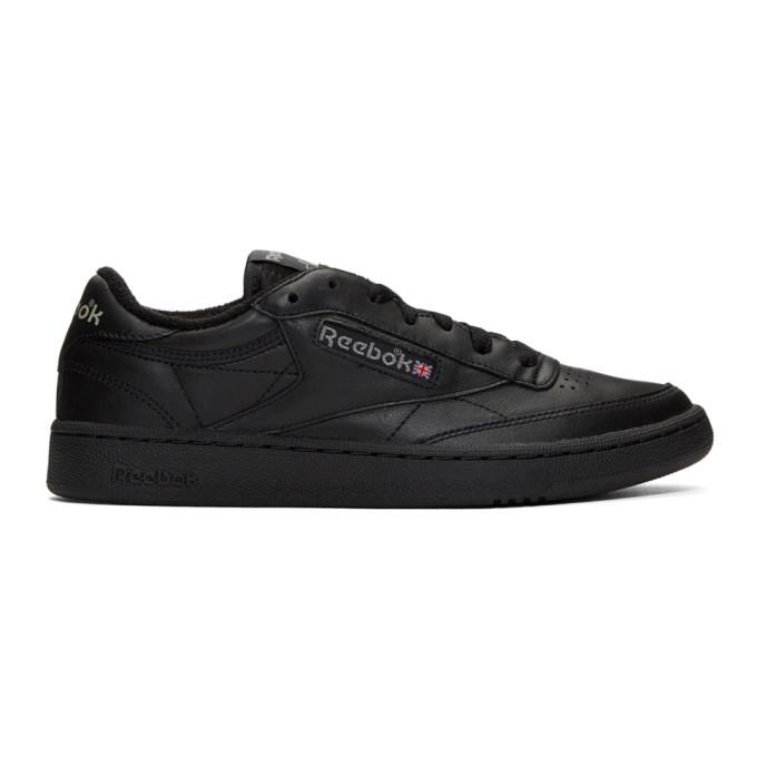 Image of Reebok Classics Black Club C 85 Archive Sneakers