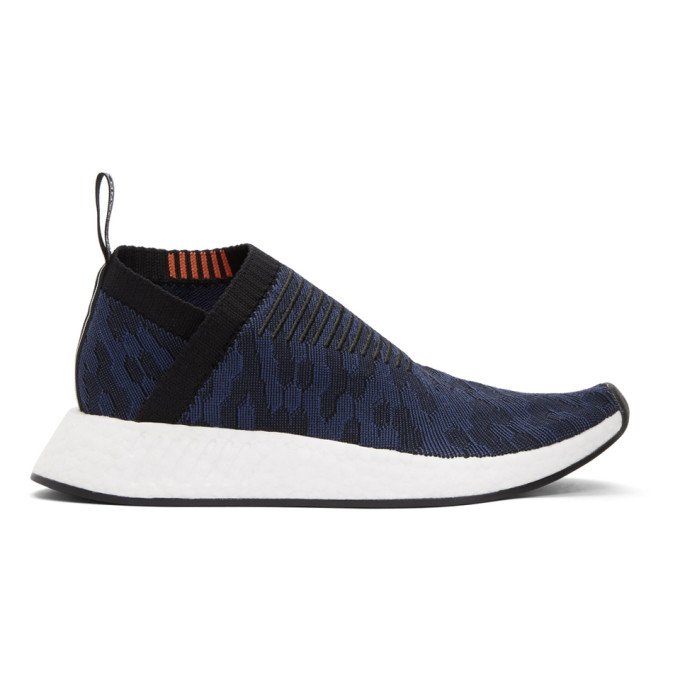 adidas Originals Black & Indigo NMD_CS2 PK Sneakers
