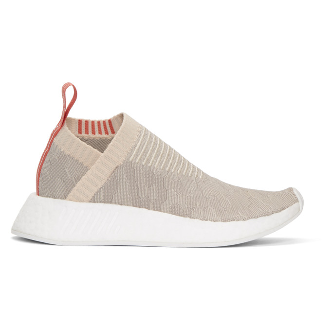Image of adidas Originals Beige & Grey NMD CS2 PK Sneakers