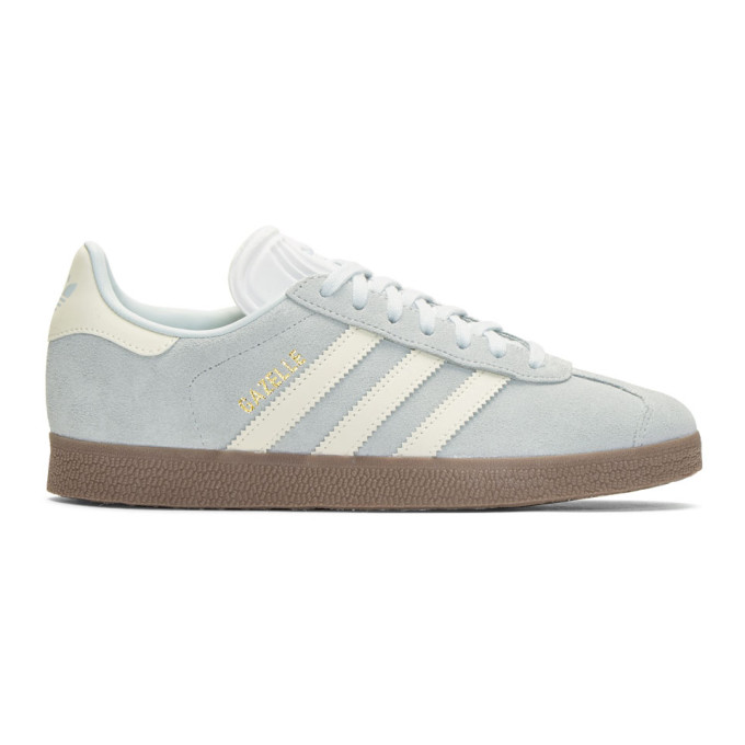 adidas Originals Blue Suede Gazelle Sneakers