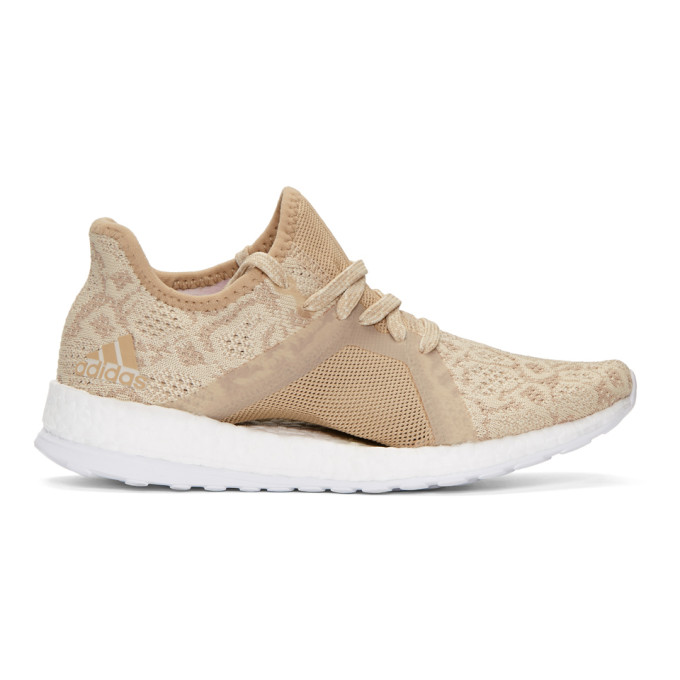 Image of adidas Originals Beige PureBOOST x Element Sneakers