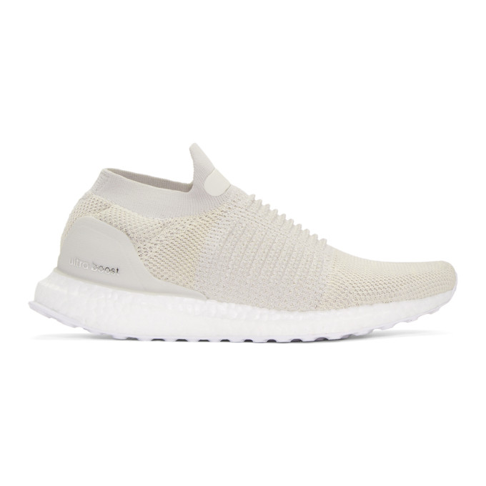 Image of adidas Originals Beige UltraBOOST Laceless Sneakers