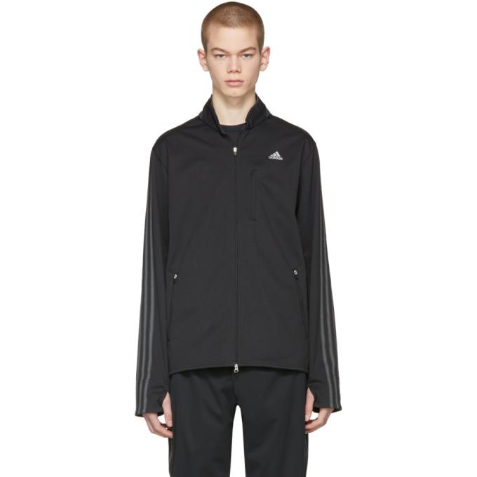 Image of Adidas x Kolor Black Chest Logo Track Jacket