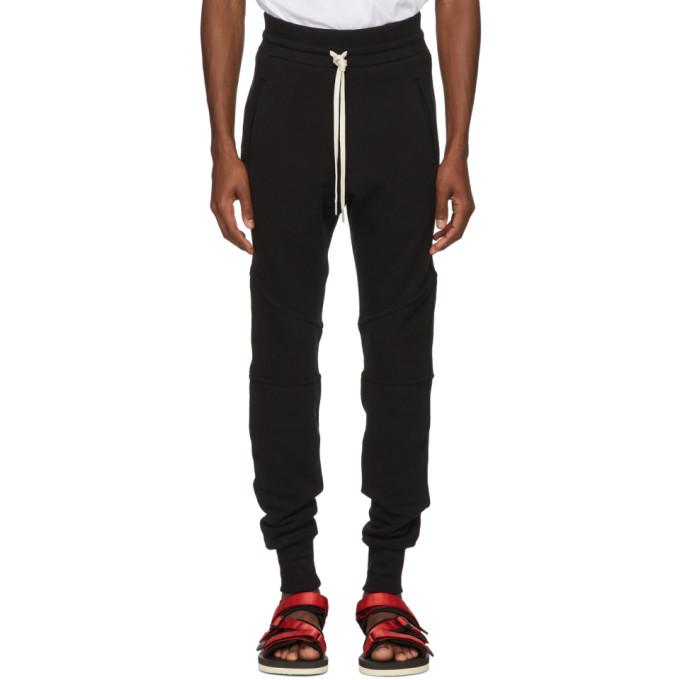 Image of John Elliott Black Core Escobar Sweatpants