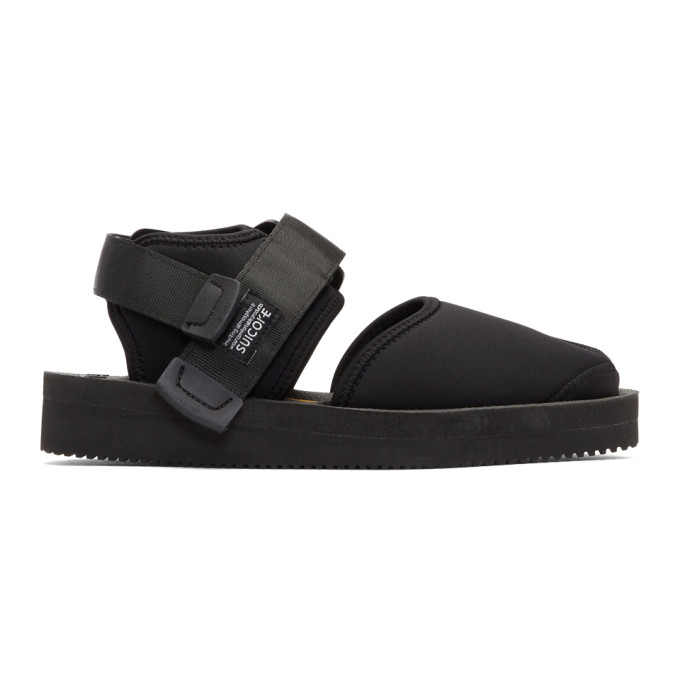 Image of Suicoke Black Bita-V Sandals