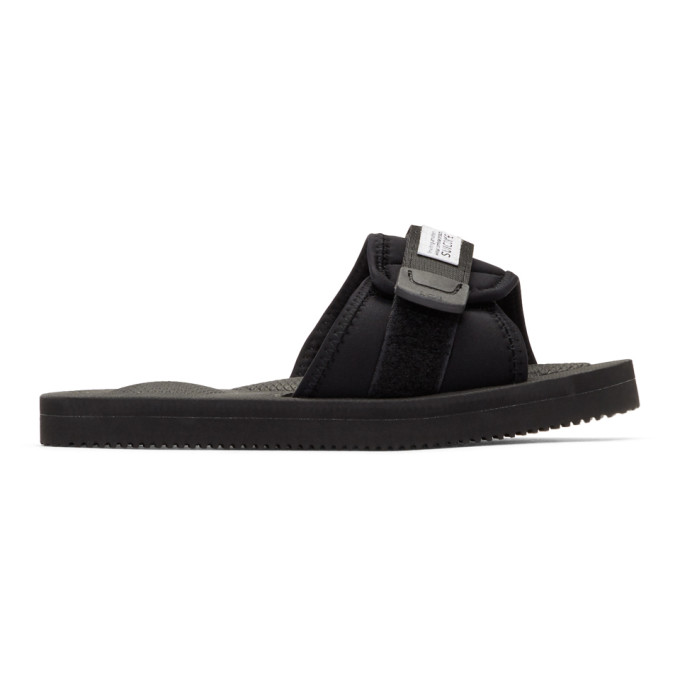 Image of Suicoke Black Padri Sandals