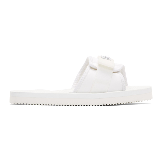 ff275df9a9a2 Suicoke SSENSE Exclusive White Padri Sandals