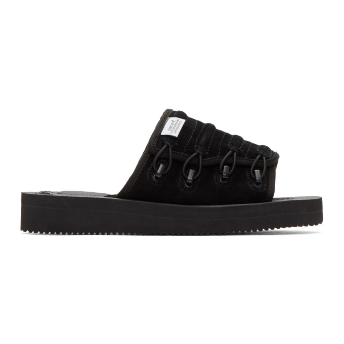 Image of Suicoke Black Mura-VS Sandals