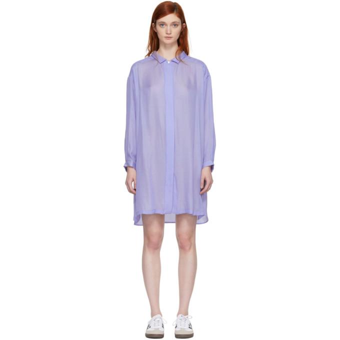 Image of Chimala Blue Shirt Dress