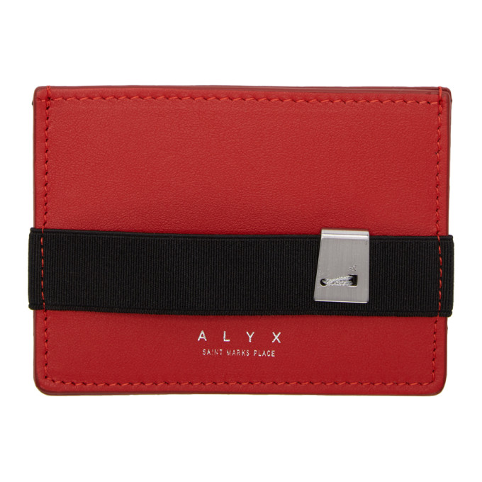 Alyx Porte-cartes rouge Ryan