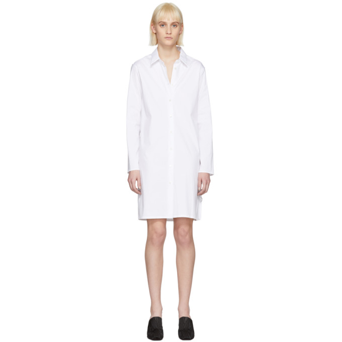 1017 Alyx 9SM White Brigitte Shirt Dress