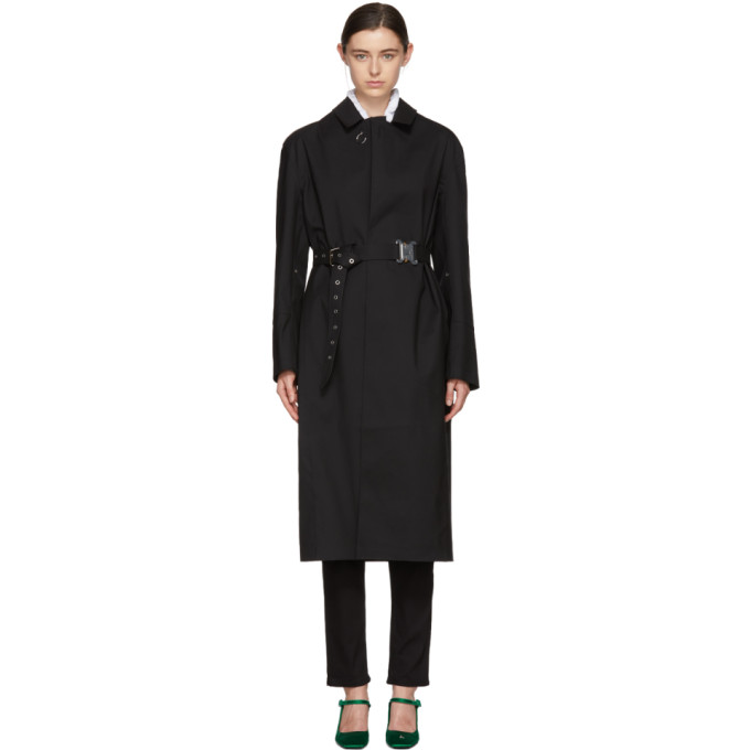 1017 ALYX 9SM Black Mackintosh Edition Formal Coat 181776F05900101