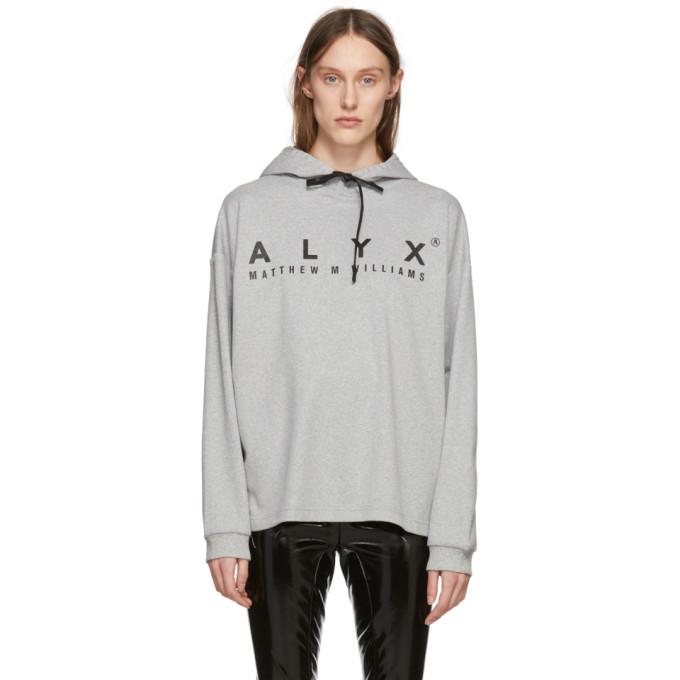 1017 Alyx 9SM Grey T Shirt Hoodie