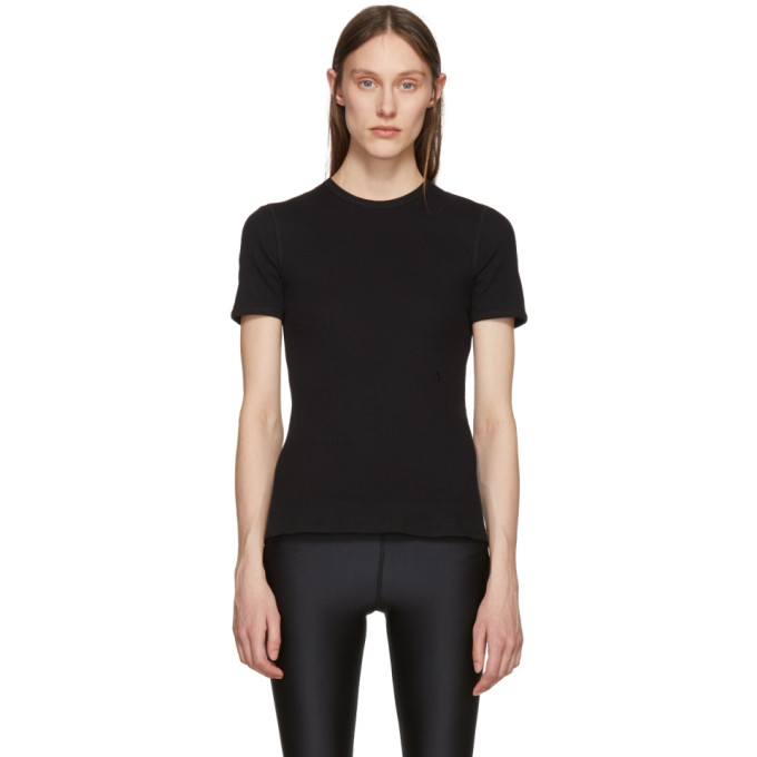 1017 Alyx 9SM Black Ribbed T Shirt
