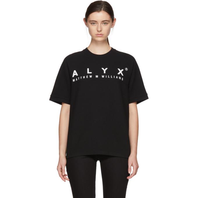 Image of Alyx Black Logo Baseball T-Shirt