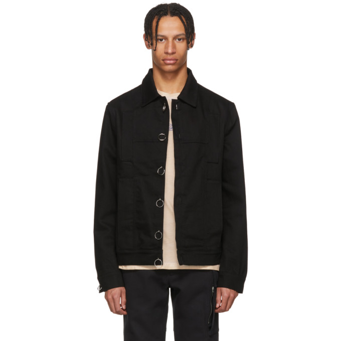 Alyx Black Classic Denim Jacket