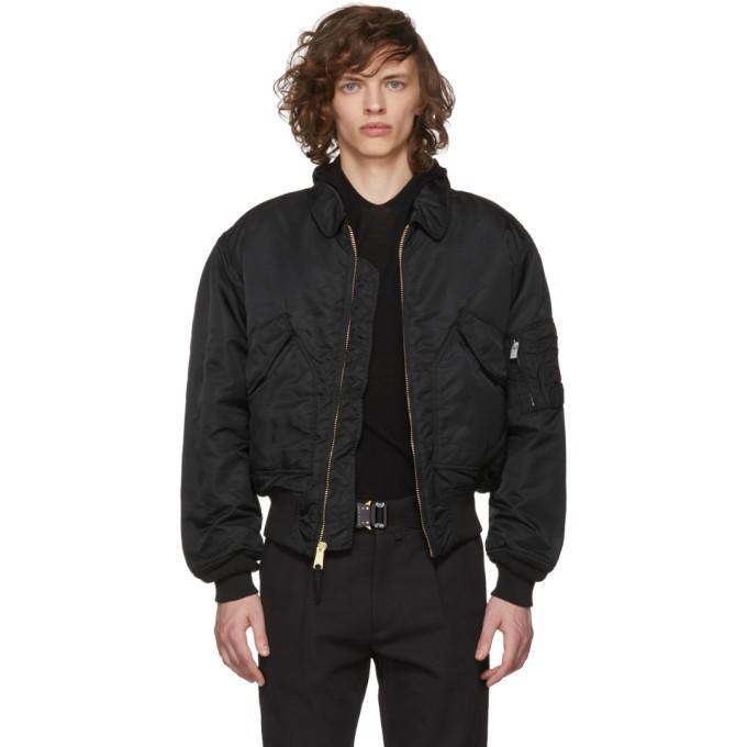 Image of Alyx Black Alpha Industries Edition Pilot Jacket
