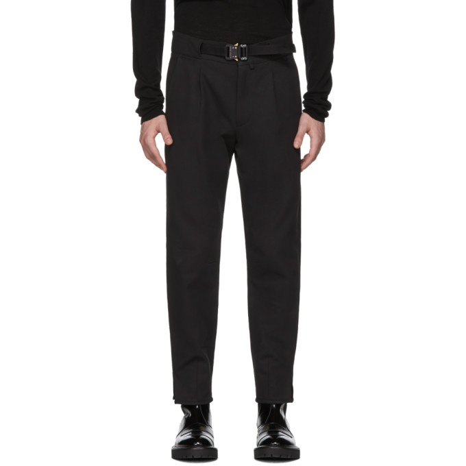Alyx Black Tailored Belted Trousers