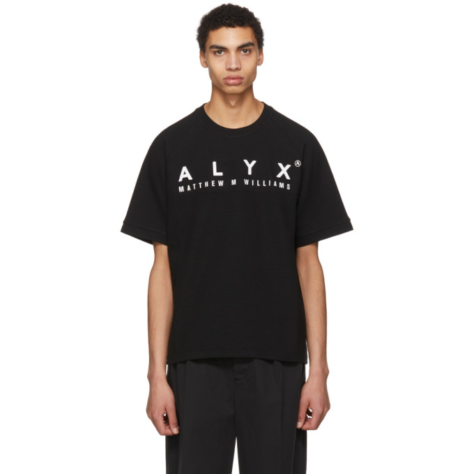 Alyx Black Logo Baseball T-Shirt