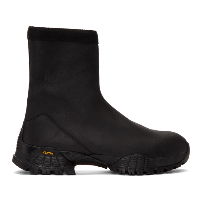 Alyx Black Laceless Hiking Boots