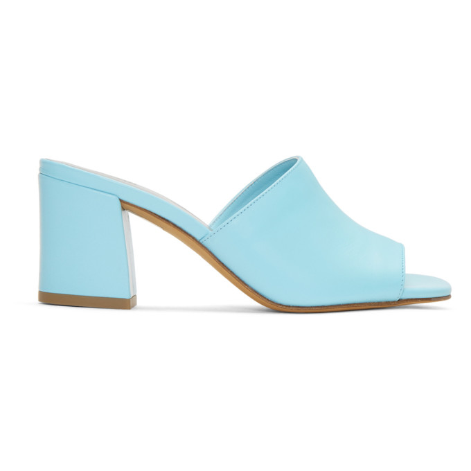Image of Maryam Nassir Zadeh Blue Mar Mules