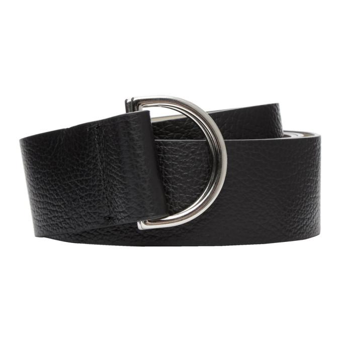 Image of Ports 1961 Black Large D-Ring Belt