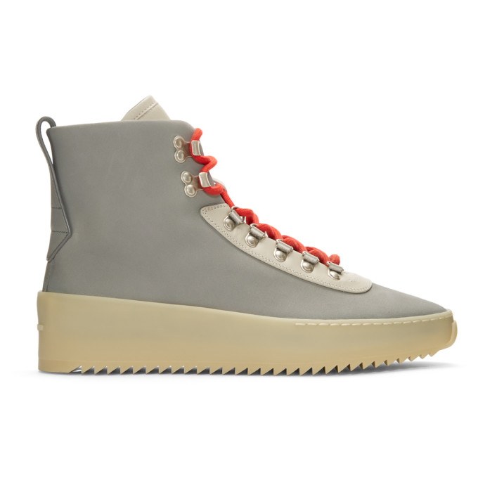 Fear of God Grey & Beige Hiking Boots