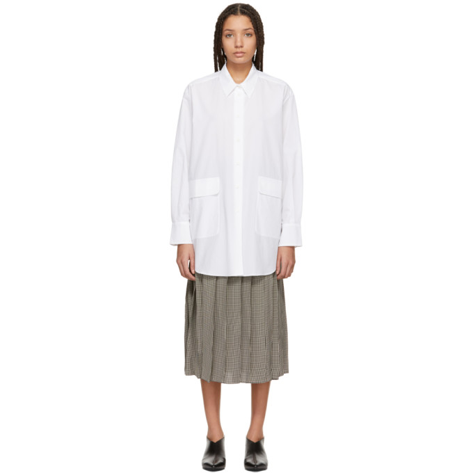 Image of Sara Lanzi White Oversized Shirt