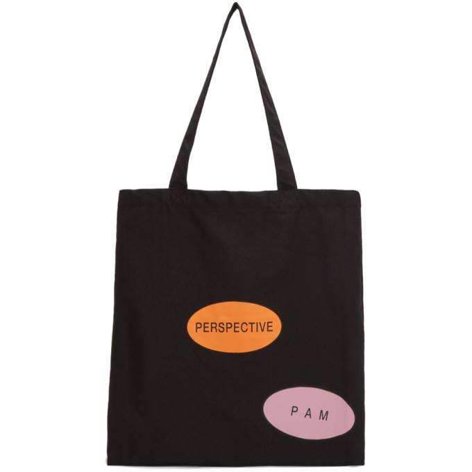 Perks and Mini Black 'Perspective Mutation' Tote
